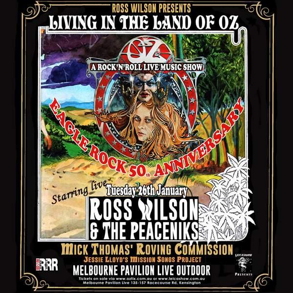 Ross Wilson Living In The Land of OZ