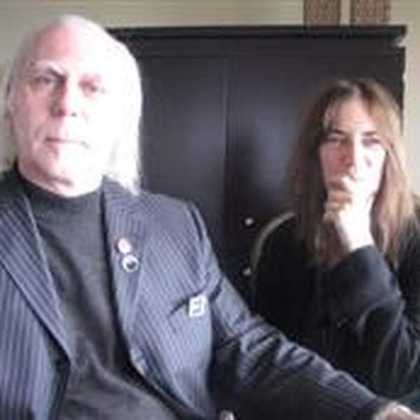 Stephen Walker with Patti Smith feature image
